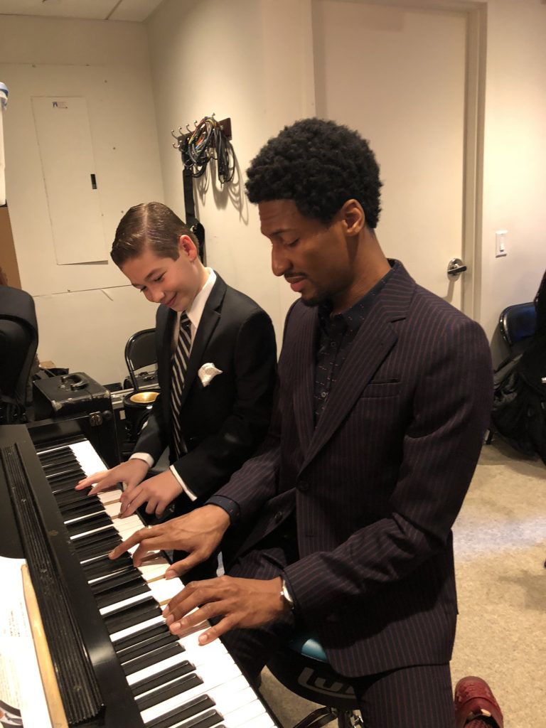 Brandon with Jon Batiste