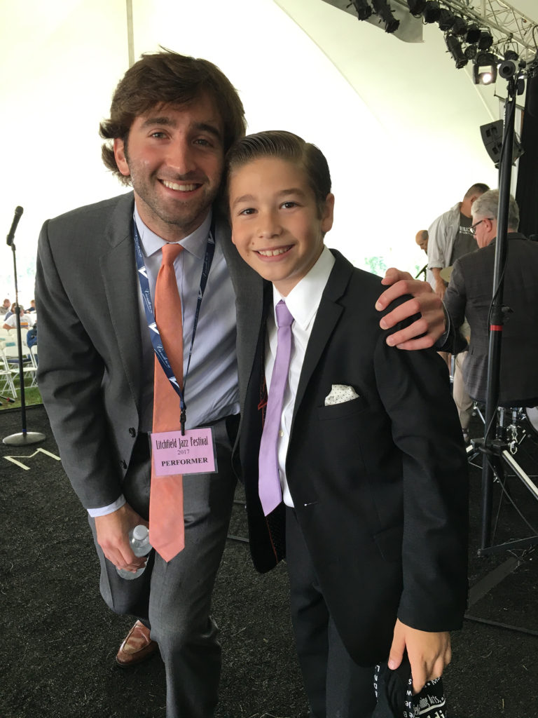 Brandon with Joe Alterman